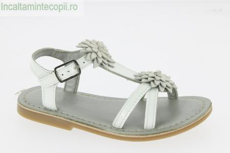 MOD8- Sandale albe copii  Mod8 471950-30 ZORA