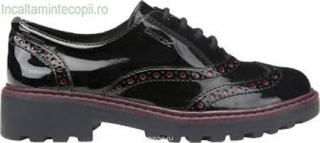 GEOX-Pantofi lac fete j6420f