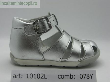 BALDUCCI-Sandale argintii 10102L