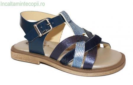 Billowy -Sandale fete bleumarin 6498C14