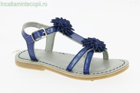 MOD8- Sandale elegante bleumarin fete 471950-30