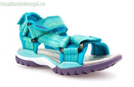 GEOX-Sandale sport turcoaz fete j620wa