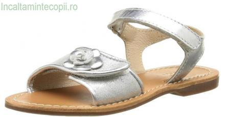 Aster-Sandale argintii fete 472820-30 Verzane