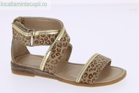 MOD8-Sandale fete leopard bej 415701-30
